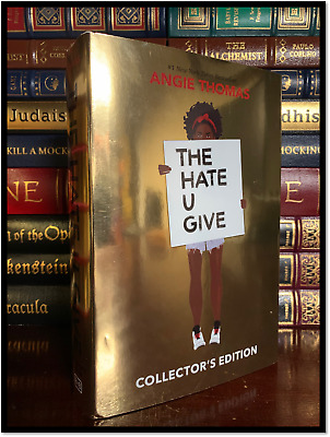 The Hate You Give ✍SIGNED✍ by ANGIE THOMAS New Collector's Edition Hardback