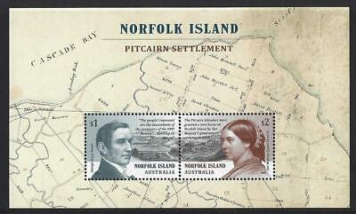 Norfolk Island 2019 Pitcairn Settlement Unmounted Mint, Mnh