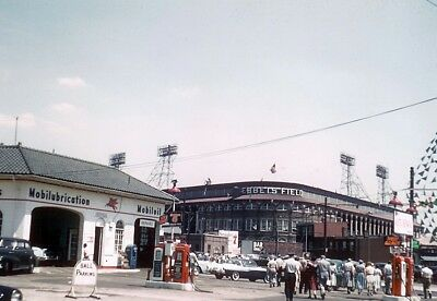1950'S Ebbets Field Brooklyn Dodgers 8 X 10 Color Photo Picture Free Shipping