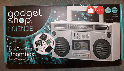 Gadget Shop Science Build Your Own Boombox