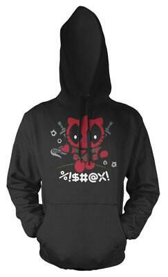 Hello Deadpool Kitty Mashup Adult Hoodie