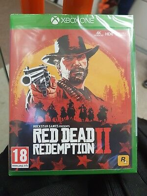 Red Dead Redemption 2 (Microsoft Xbox One, 2018) - UK Version New & Sealed