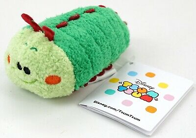 "New Disney Parks Tsum Tsum A Bug's Life Heimlich 3.5"" Mini Plush"