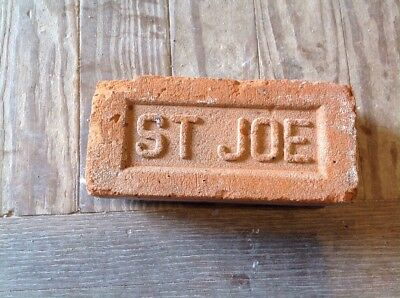 Antique Brick Stamped ****  St Joe  ********