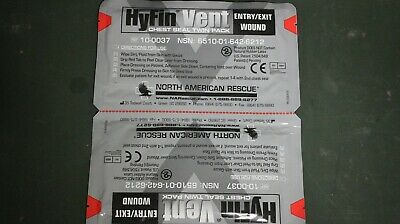Hyfin Chest Seal Twin Pack (North American Rescue) EXP 2023