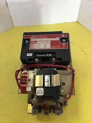 Square D 60 amp 3 Pole Lighting Contactor 8903SM011