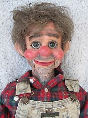 Pro Style Ventriloquist Figure DummyPuppet Doll Steve Barry