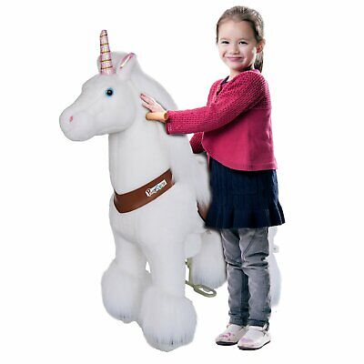 PonyCycle Ride On Toy Unicorn Small Size for Ages 3-5 Years Official Retailer