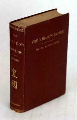 1877 The Mikado's Empire History Of Japan Personal Experience William Griffis