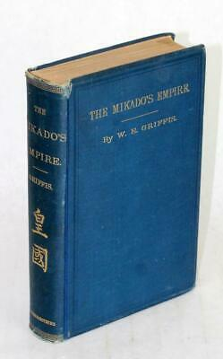 1900 The Mikado's Empire History Of Japan William Elliot Griffis War With China