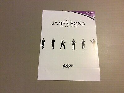 The James Bond 24 Film Collection Includes Spectre Hd Ultraviolet Uv Codes Only