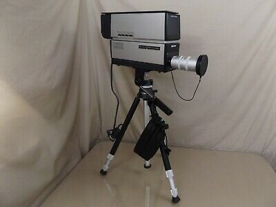 Vintage SONY AVC-3260 Television TV Video Camera + 75mm Lens + VCT Tripod WORKS!