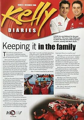 Holden HSV  Kelly Diaries Brochure