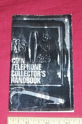 Old Payphone Coin Telephone Collector's Handbook GTE General Phone Vintage Book