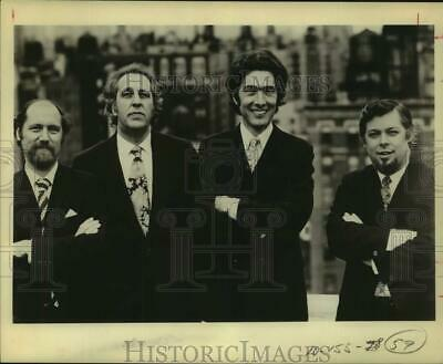1974 Press Photo Four Members of The Guarneri String Quartet in portrait outside