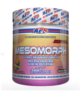New Mesomorph, Pre Workout Supplement Snow Cone Flavour, 25 Servings