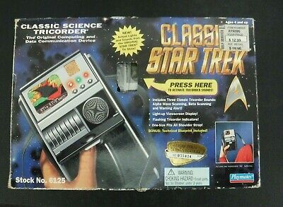 Vintage Classic Star Trek Classic Science Tricorder By Playmates