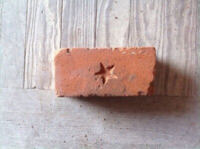Antique Brick Stamped ***** Star   *******