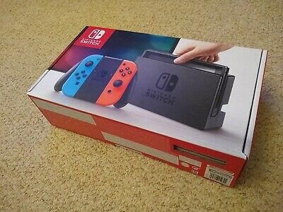 Nintendo Switch box ONLY (and inserts)