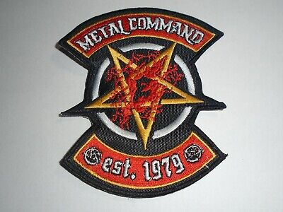 Exodus Metal Command Embroidered Patch