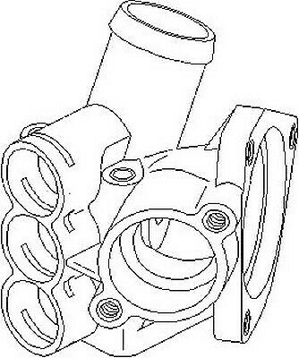 VW Transporter Caravelle 1995-2003 Mk4 Thermostat Housing Coolant System Replace