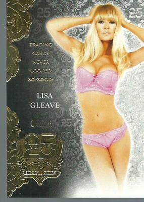 Lisa Gleave 2018 Benchwarmer 25 Years Trading Cards Never Looked So Good #/25.