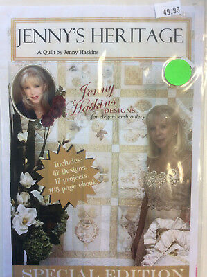 Jenny Haskins Designs Special Edition A Quilt - Jenny's Heritage Collection