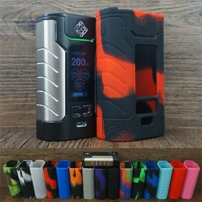Silicone Case for Wismec SINUOUS FJ200 & ModShield Tank Band Protective Cover