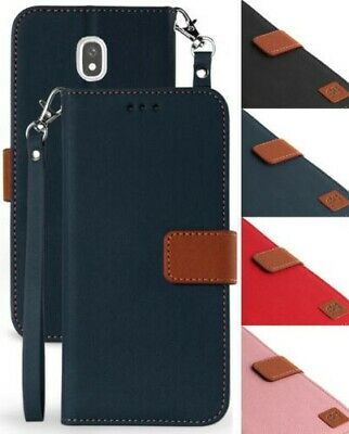 Wallet Case Stand Strap for Samsung Galaxy Express Prime 3, Amp Prime 3, Sol 3