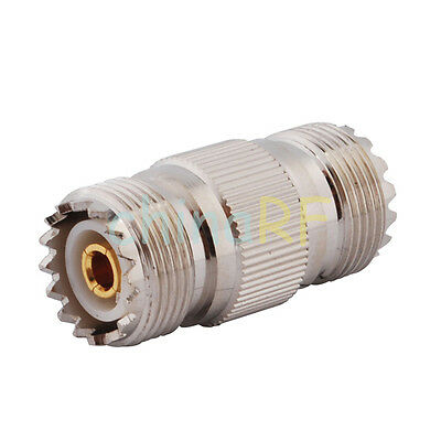 UHF Jack adapter SO239 to SO239 Female connector adapter For CB Walkie Talkie