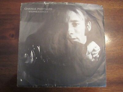 Stephen Stills Change Partners Relaxing Town picture sleeve 45 rpm 45-2806