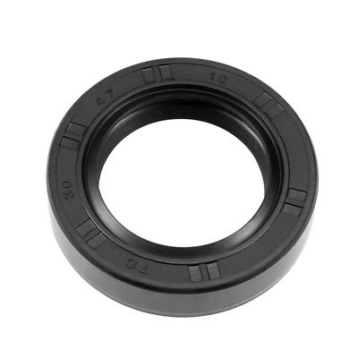 sourcing map Oil Seal TC Nitrile Rubber Cover Double Lip 30mm x 55mm x 10mm