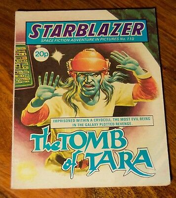 STARBLAZER - No. 110 - The Tomb Of Tara -  Printed 1983