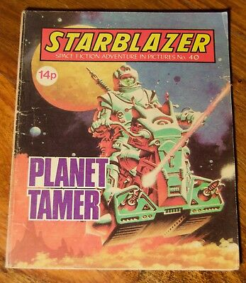 STARBLAZER - NO. 40 - Planet Tamer - Printed 1981