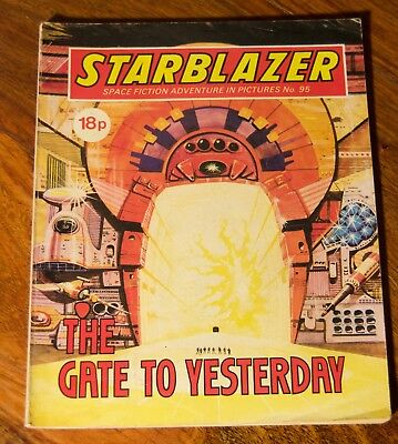 STARBLAZER - No. 95 - The Gates To Yesterday -  Printed 1983
