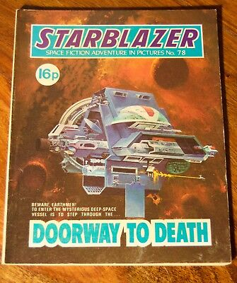 STARBLAZER - No. 78 - Doorway To Death -  Printed 1982