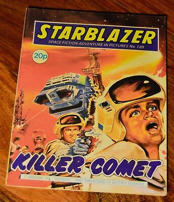 STARBLAZER - NO. 120 - Killer Comet - Printed 1984
