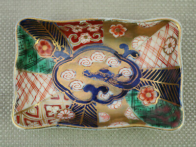 Japanese Imari Hand Decorated Porcelain Floral Multicolor Imported From Japan