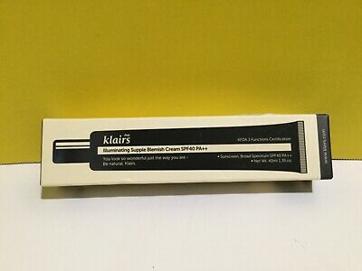 Klairs Illuminating Supple Blemish Cream Liquid Fudation Spf  40 Pa ++ 1.35.fl