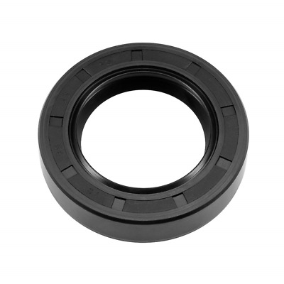 sourcing map Oil Seal TC 30 mm x 62 mm x 12 mm Nitrile Rubber Cover Double Lip