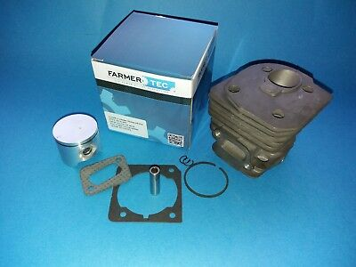 Husqvarna 350 351 346 353 chainsaw cylinder & piston kit 44mm bended fins