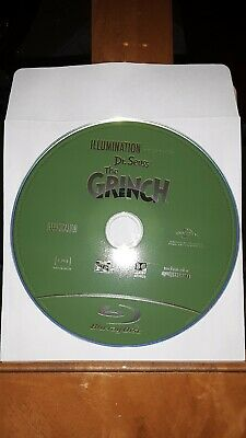 The Grinch Dr. Seuss Blu Ray Disc Only New Never Watched