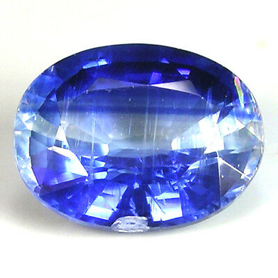SYMMETRICAL VIVID ROYAL BLUE NEPAL KYANITE  2.4ct - OVAL CUT