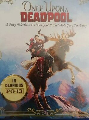 ONCE UPON A DEADPOOL (2019) Based on Deadpool 2 but in PG13 (DVD DISC Only)