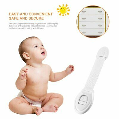 Infant Baby Kids Toddler Safety Fridge Drawer Door Cabinet Cupboard Locks WZ