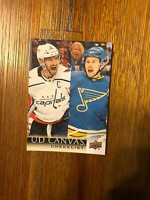 2018-19 Upper Deck Series Two Canvas U-Pick From List Sp Rc