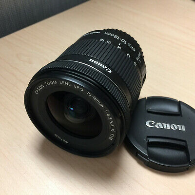 Canon EF-S 10-18mm f/4.5-5.6 IS STM Lens - Only Used Once for Testing Purpose