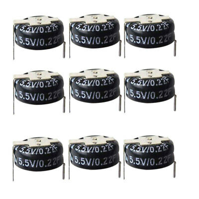 10 5.5V 0.22F H-Type ELNA DXN Super-Farad Capacitor Double-Layer Capacitor