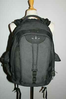180b5c76c8a6 Adidas Load Spring Headphone Passthrough Laptop Gray School Backpack