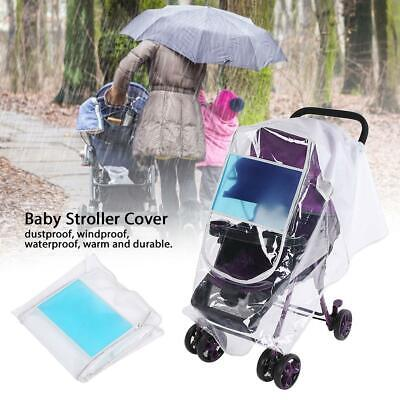 New Waterproof Windproof Rain Cover Raincover For Baby Pushchair Stroller Pram